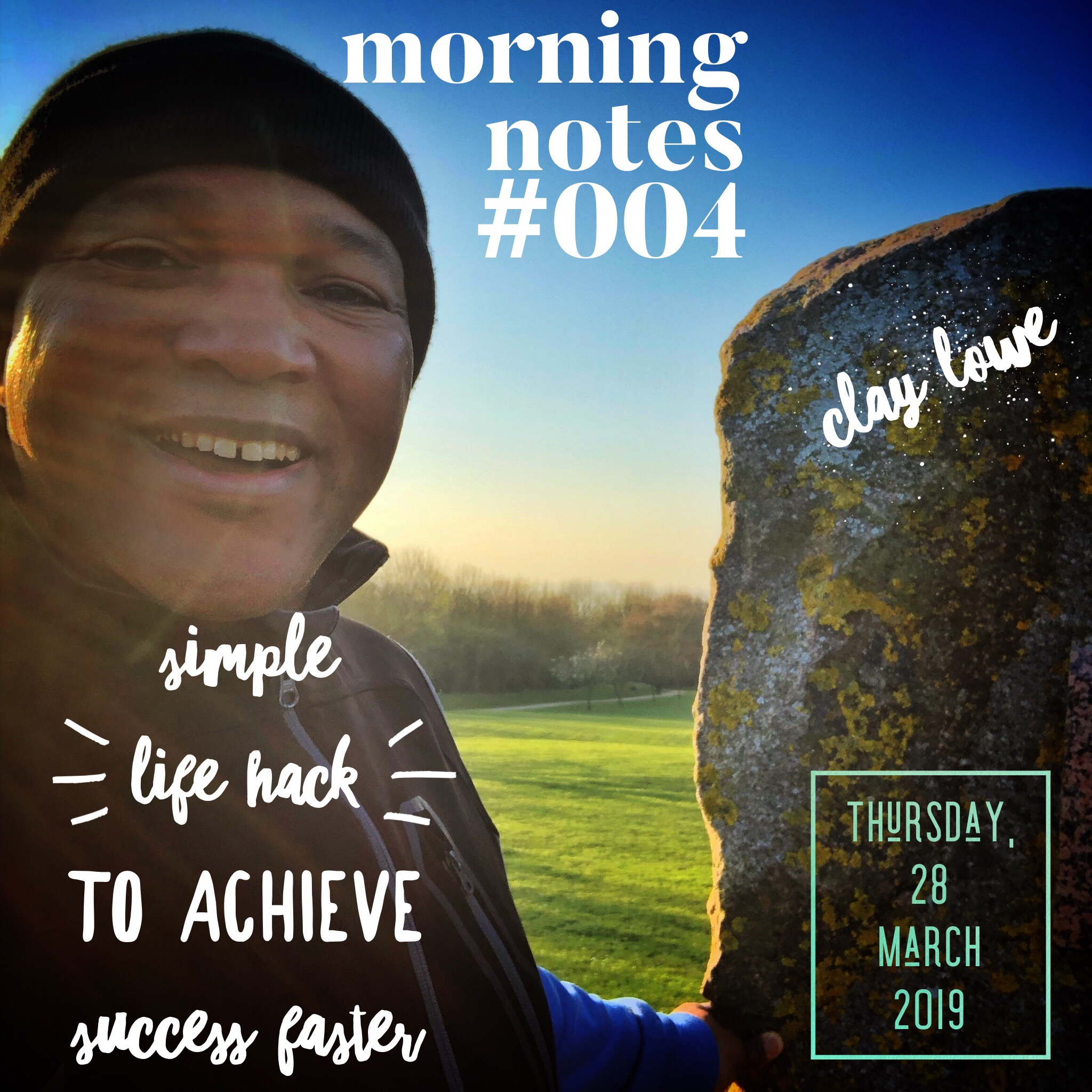 Simple Lifehack to Achieve Success Faster |Morning Notes 004