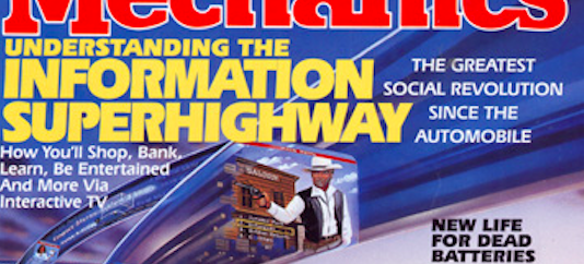 Remember the information superhighway?