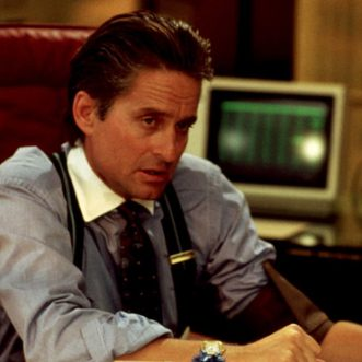 Look at me, I'm Gordon Gekko